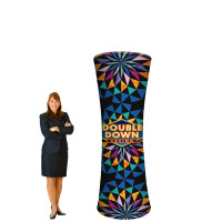 8' Trade Show Display Tower - Branded Column