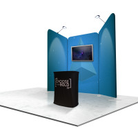 Expand Trade Show Booth Display Package (F)