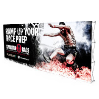20ft. Stretch Fabric Large Pop Up Display