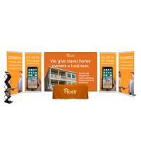 Venture 20ft. Trade Show Booth Display Package (F)