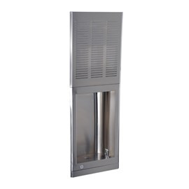 Barrier-Free (Chiller on Top) Stainless Steel Recessed Chilled Drinking Fountain