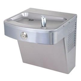 Barrier-Free Stainless Steel Vandal-Resistant Wall Mount Water Cooler