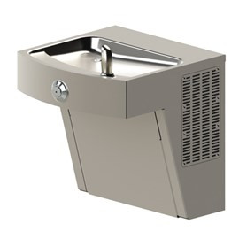 Barrier-Free 14-Gage Stainless Steel Wall Mount Water Cooler