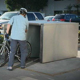 Bicycle Locker, Extra Heavy Duty