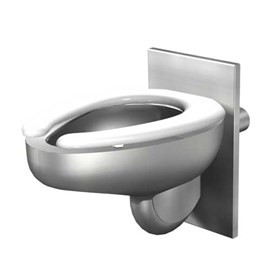 Compact Wall Hung Toilet, Wall Supply