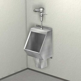 Washout Urinal, Front Mount