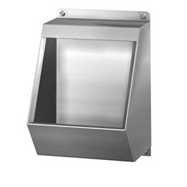 Waterless Campground Urinal, Front Mount