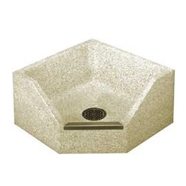 Terrazzo Neo-Corner Mop Sink