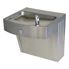 Barrier-Free Vandal-Resistant Stainless Steel Water Cooler