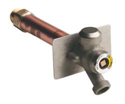 Quarter-Turn Wall Hydrant