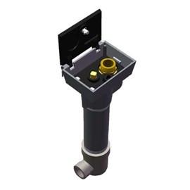 "1-1/2"" Cast Iron Box Ground Hydrant with Locking Lid"