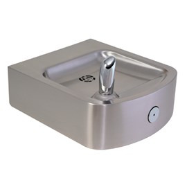 14-Gage Stainless Steel Box Wall Mount Drinking Fountain