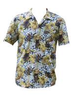 Vintage Colourful Hawaiian Leopard Print Shirt