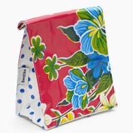 Ben Elke Lunch Bag - Red Hibiscus