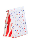 Ben Elke Lunch Bag - White Blue and Red Stars