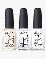 Kester Black Nail Polish in French Manicure Set