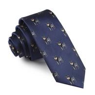 OTAA Schnauzer Dog Skinny Tie