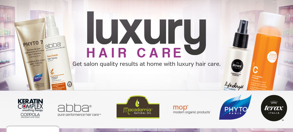 Luxury Hair Care from Phyto, MOP, Keratin