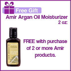 Amir Free Gift with Purchase!