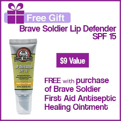 Brave Soldier FREE Gift with Purchase!