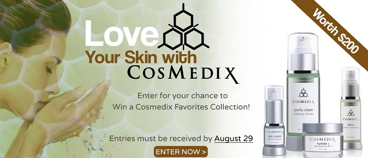 Win $200 of Cosmedix Skincare!