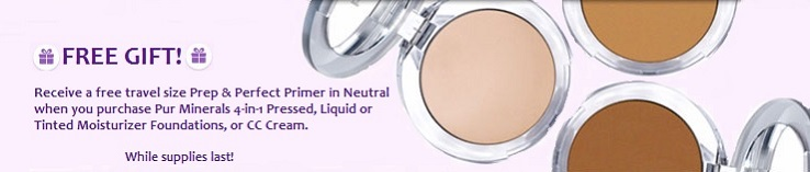Pur Minerals Free Gift with Purchase