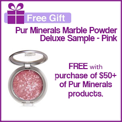 Pur Minerals Free Gift with Purchase!