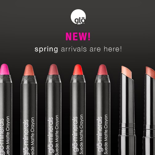 gloMinerals Spring Lip Collections!