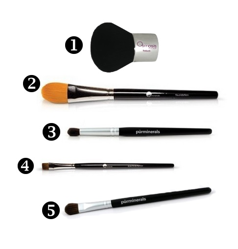 top 5 makeup brushes