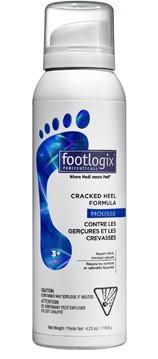 Footlogix 3 Extra Cracked Heel Formula Mousse 4.2 oz - beautystoredepot.com
