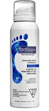Footlogix #3+ Extra Cracked Heel Formula Mousse 4.2 oz