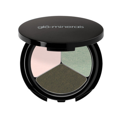 gloMinerals gloEye Shadow Trio - Fresh Greens