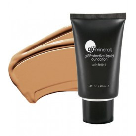 gloMinerals gloProtective Liquid Foundation - Golden Dark - Satin II