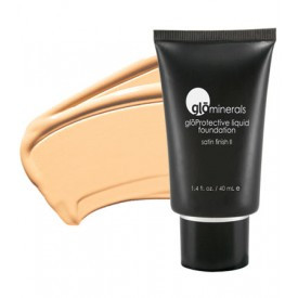 gloMinerals gloProtective Liquid Foundation - Golden Fair - Satin II