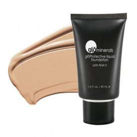 gloMinerals gloProtective Liquid Foundation - Honey Fair- Satin II