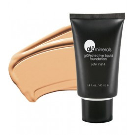 gloMinerals gloProtective Liquid Foundation - Golden-Light - Matte II