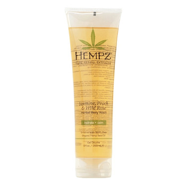 Hempz Jasmine, Peach and Wild Rose Body Wash 9 oz