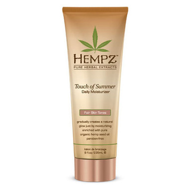 Hempz Touch Of Summer Daily Moisturizer - Fair 8 oz