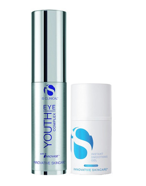 iS Clinical Youth Eye Complex 0.5 oz + iS Cosmeceuticals Instant Smoothing Gel 0.5 oz Promotion Set