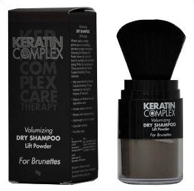 Keratin Complex Volumizing Dry Shampoo Lift Powder for Brunettes 9g