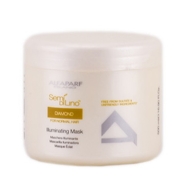 Alfaparf Semi Di Lino Diamond Illuminating Mask 16.9 oz