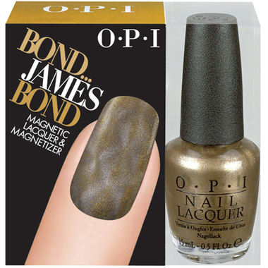OPI Skyfall Collection - Bond...James Bond Magnetic Lacquer and Magnetizer - beautystoredepot.com