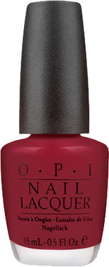 OPI Nail Polish - Got the Blues for Red