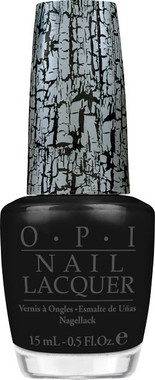 OPI Nail Polish Black Shatter .5 oz
