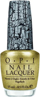 OPI Nail Polish Gold Shatter .5 oz