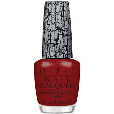 OPI Nail Polish Red Shatter .5 oz