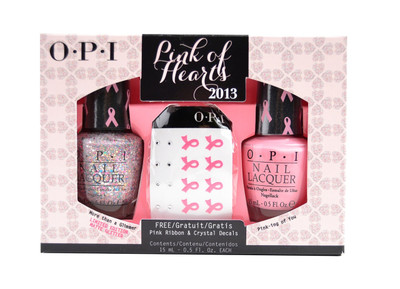 OPI Pink of Hearts 2013 BCA Duo