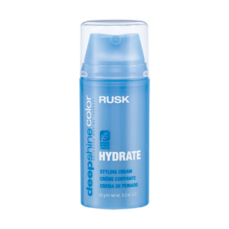 Rusk Deepshine Color Hydrate Styling Cream 3.2 oz