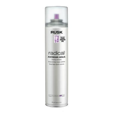 Rusk Radical Extreme Hold Finishing Hairspray 10 oz