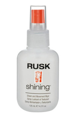 Rusk Shining Sheen and Movement Myst 4.2 oz